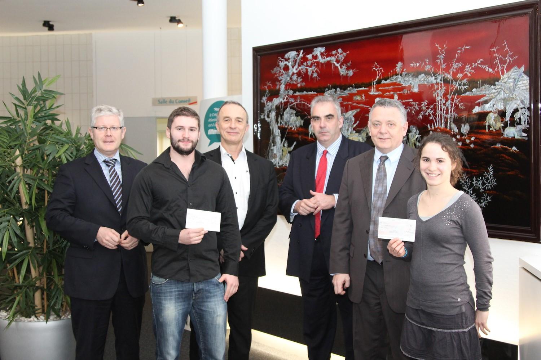 Prix Mobilité Internationale 2012