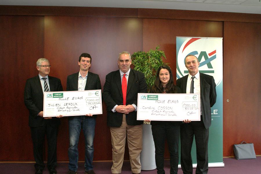 Gagnants prix mobilité internationale 2013