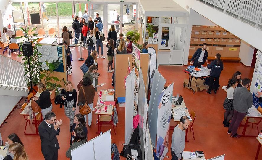 stands du Forum des métiers 2019 d'Oniris - filières agroalimentaires