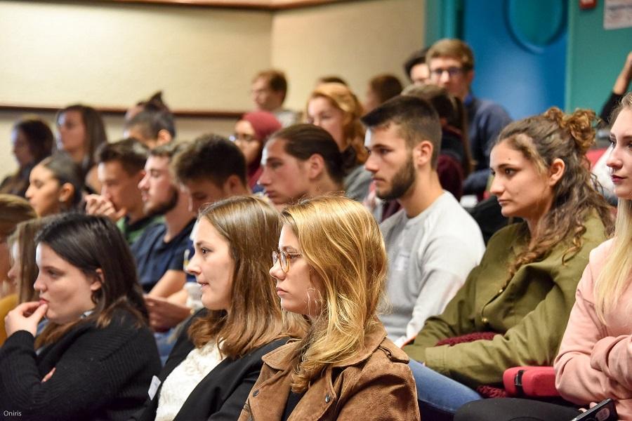 Etudiants d'Oniris filière Agroalimentaire au forum des métiers 2019
