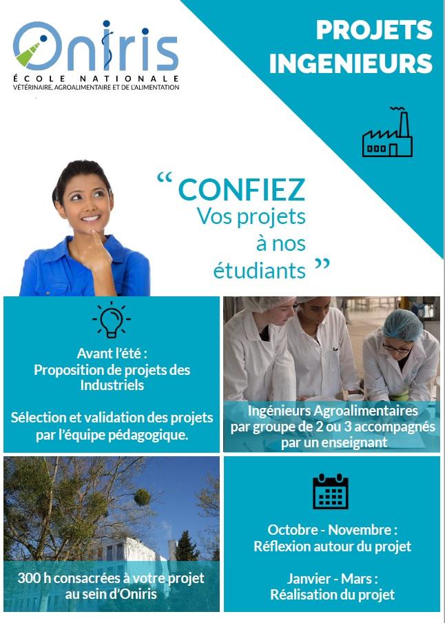 brochure projets tutorés oniris